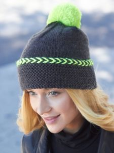 Pop of Neon Hat