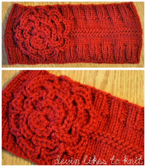 Knitting Patterns Galore - Simple Headband/Ear-Warmer