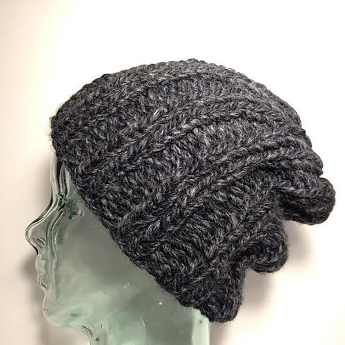 Basic Knit Hat Pattern : Knitting Patterns Galore - Basic Ribbed Hat