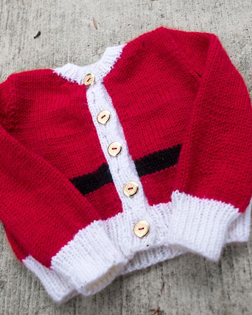 Knitting Patterns Galore Santa Baby