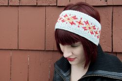 Gorgeous Stranded Colorwork Headband