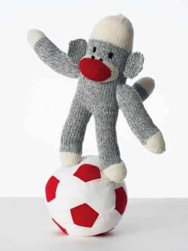 Knitting Patterns Galore Monkey Around Sock Monkey 159