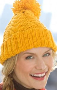 Horseshoe Cable Hat