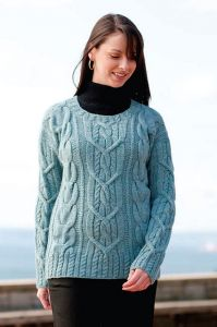 Cable Lover's Pullover