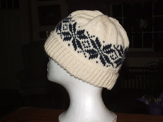 knitting patterns galore norwegian star hat