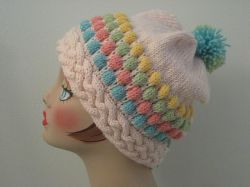 Blister Stitch Hat