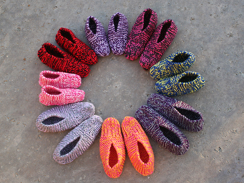 Knitting Patterns Galore Aunt Maggie S Slippers