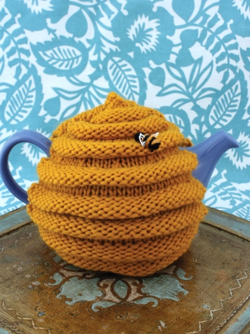 Knitting Patterns Galore Beehive Tea Cozy