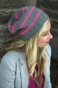 Neon Striped Hat
