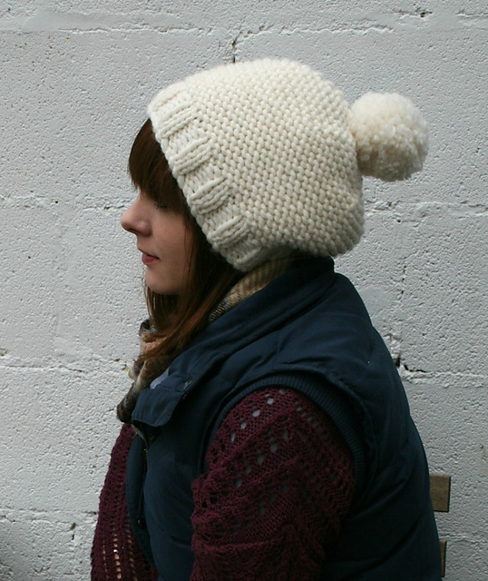 Knitting Patterns Galore The Super Chunky Bobble Hat