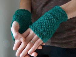 Emerald Green Handwarmer
