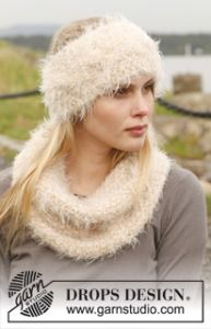Cable Headband and Neckwarmer