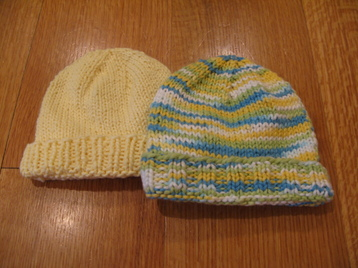 Knitting Patterns Galore Basic Newborn Hat