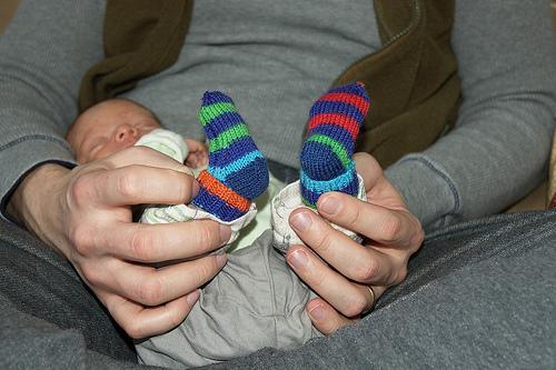 Knitting Patterns Galore Baby Mitten Socks