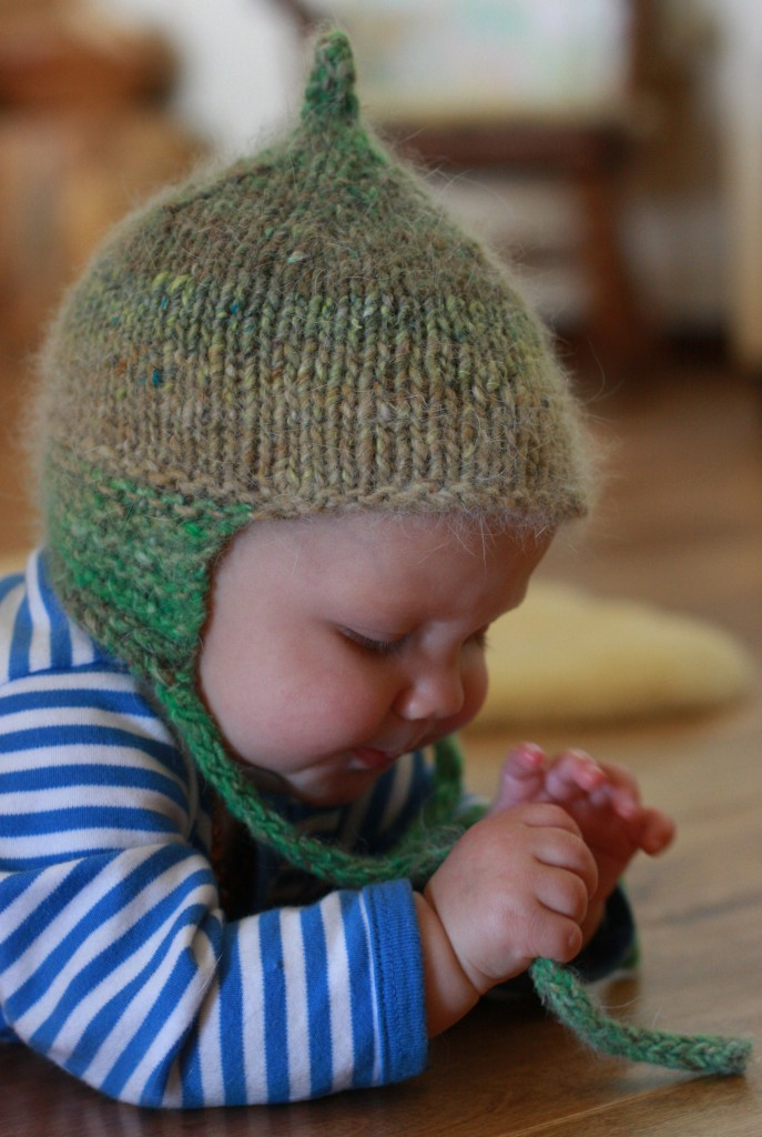 Knitting Patterns Galore - Knitted Baby Hat