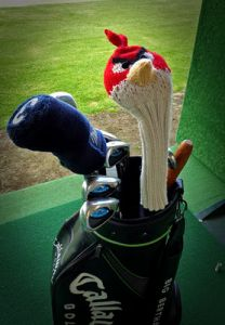 Angry Bird Golf Club Cover