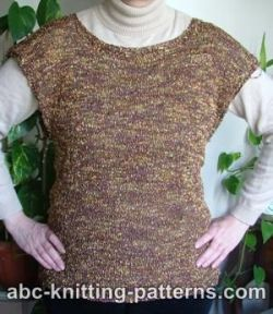 Evening Wear Knitted Tunic