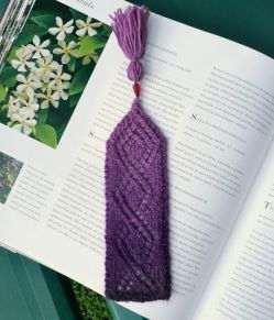 Trellis Lace Bookmark