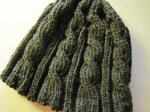 Knitting Patterns Galore Irish Hiking Hat