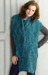 Knit Button Wrap