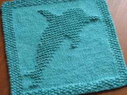 Dolphin Dishcloth