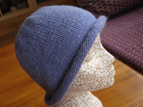 Knitting Patterns Galore - Easy Any-Size Beginner Hat Recipe