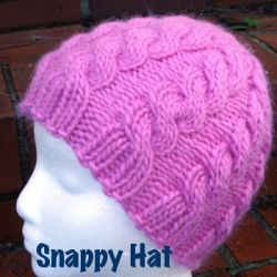 Knitting Patterns Galore Hats : Knitting Patterns Galore - Snappy Hat