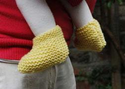 bd55825ca Knitting Patterns Galore - Baby Booties