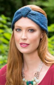 Button Up Knit Headband