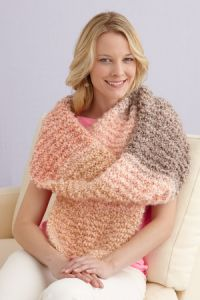 Plush Stripes Shawl