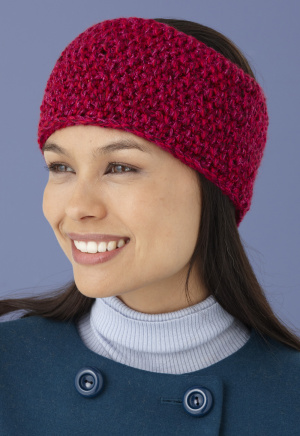 Knitting Patterns Galore Seed Stitch Headband