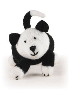 Knitted Farm Animals: Sheepdog