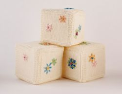 Embroidered Baby Blocks