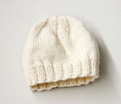 Child's Simple Knit Hat