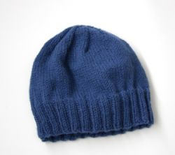 Adult's Simple Knit Hat