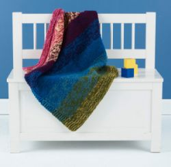 Blended Colors Baby Throw
