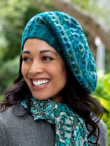 Knitting Patterns Galore Slip Stitch Beret