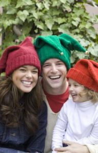 Jingle Bells Family Hats
