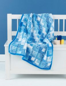 Mitered Blocks Blankie