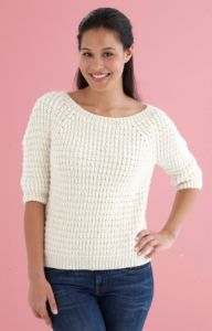 Shaped Shoulder Pullover