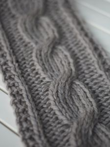 Big Cable Scarf