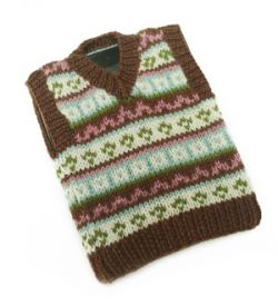 Tablet (iPad) Fair Isle Tech Vest