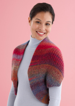 Knitting Patterns Galore Snapped Convertible Cowlshrug