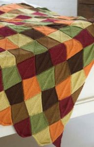 Falling Leaves Afghan