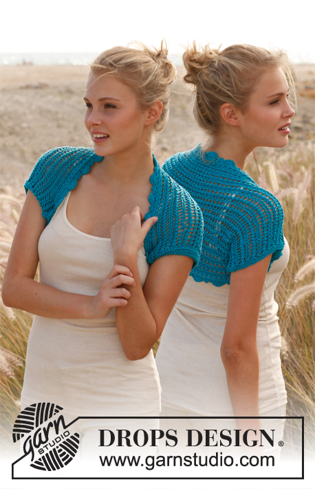 Knitting Patterns Galore Sea Shrug