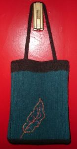 Kristy's Felted Teacher Tote