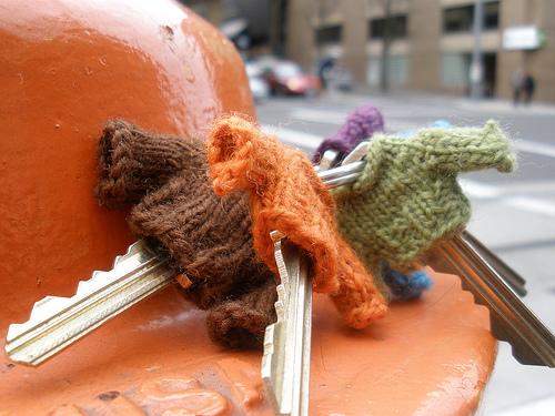 Knitting Patterns Galore - Cozy Keys