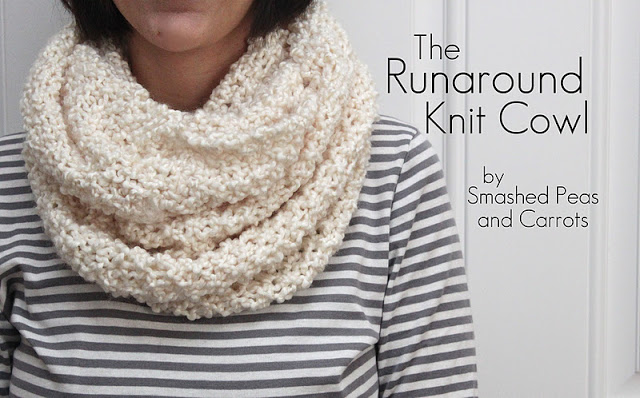 Knitting Patterns Galore Runaround Knit Cowl