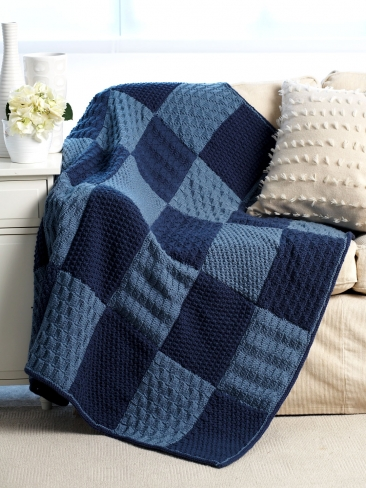 Knitting Patterns Galore Sampler Blanket