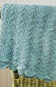 Knit Seaside Waves